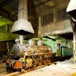 Steam locomotive — Stock Photo #4681563