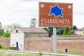 Fortification of Sabbioneta city, Lombardy, Italy — Foto Stock