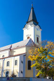 Church of all saints, Libochovice — Stock Photo
