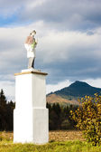 Statue of saint, Liptovske Matiasovce, Slovakia — Stock Photo