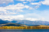 Liptovska Mara with Western Tatras — Stock Photo