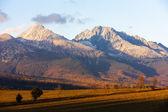 Krivan Mountain, Western part of High Tatras — Stock Photo