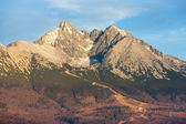 Lomnicky Peak, High Tatras — Stock Photo