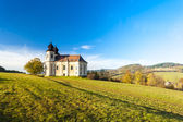 Church of Saint Margaret, Sonov near Broumov — Stock Photo