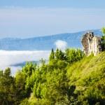 Ruins of castle, Montfuron, Provence, France — Stock Photo #48605633