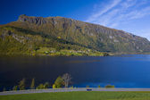 Lake Granvin Vatne, Norway — Stock Photo