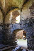 Interior of ruins of Krakovec Castle, Czech Republic — Stock Photo