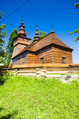 Wooden church, Fricka, Slovakia — Stock Photo