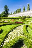 Flower garden of Kromeriz Palace — Foto Stock