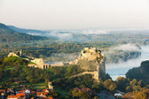Ruins of Devin Castle, Slovakia — Stock Photo