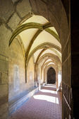 Cloister of monastery, Hronsky Benadik, Slovakia — Stock Photo