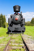 Steam locomotive, Viglas, Slovakia — Stock Photo