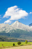 Krivan Mountain and Western part of High Tatras — Stock Photo