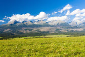 Western part of Vysoke Tatry (High Tatras), Slovakia — Stock Photo