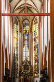Interior of St Elisabeth''s Church, Wroclaw, Silesia, Poland — Stock Photo