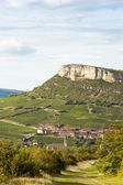 Vergisson Rock, Burgundy — Stock Photo