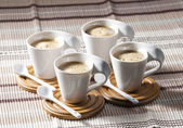 Cups of coffee — Stock Photo