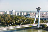 New Bridge, Bratislava — Stock Photo