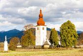 Befäst kyrka — Stockfoto