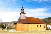 Igreja de madeira — Fotografia Stock
