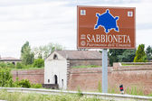 Fortification of Sabbioneta city — Stock Photo
