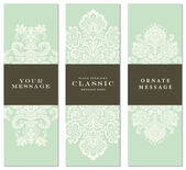 Vector Pastel Ornament Set — Stock Vector