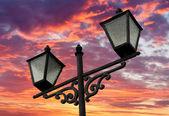 Street lanterns — Stock Photo