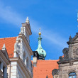 Stock Photo: Baroque buildings in Dresden