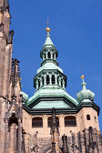 Cathedral cupola in Prague — Stock Photo