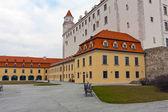 Old castle in Bratislava — Stock Photo