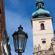 Street lantern in Prague — Stock Photo
