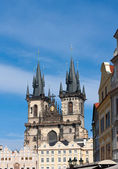 Castle in Prague — Stock Photo