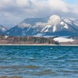 Big lake in tatra Mountains — Stock Photo