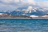 Big lake in tatra Mountains — Stock Photo
