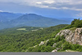 Crimean mountains — Foto Stock