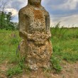 Stock Photo: Old stone idol
