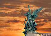Angel sculpture — Stock Photo