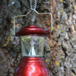 Camp lantern — Stock Photo