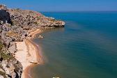 Rocky sea coast — Stock Photo
