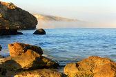 Cena de manhã no mar — Foto Stock