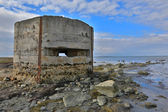 Old abandoned military bunker — Stock Photo