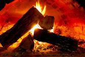 Fuoco caldo — Foto Stock