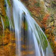 Waterfall in autumn time — Foto de Stock