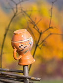 Clay jug — Stock Photo
