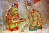 Fresco in Sigiriya — Stockfoto