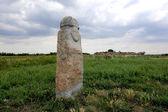 ídolo de piedra — Foto de Stock