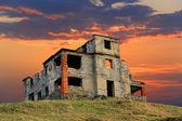 Ruínas da antiga casa — Fotografia Stock