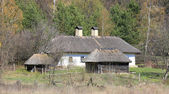 Traditional ukrainian house — Foto Stock