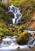 Nice waterefall in Carpathians — Stock Photo