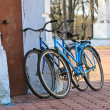 Two old bicycle — Stock Photo #46753081